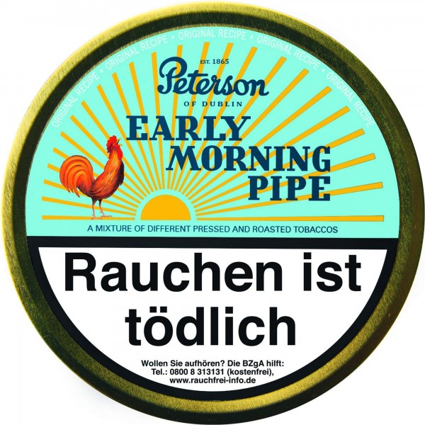 Peterson Pfeifentabak Early Morning - 50g Tin