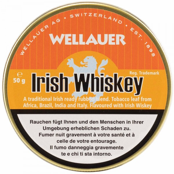 Wellauer's Pfeifentabak Irish Whiskey - 50g Tin
