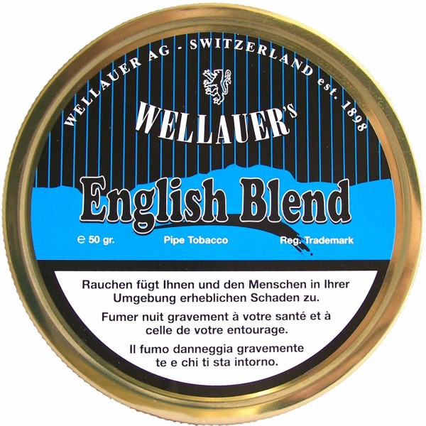 Wellauer's Pfeifentabak English Blend - 50g Tin