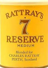 Rattray's No. 7 Reserve - 100g Tin
