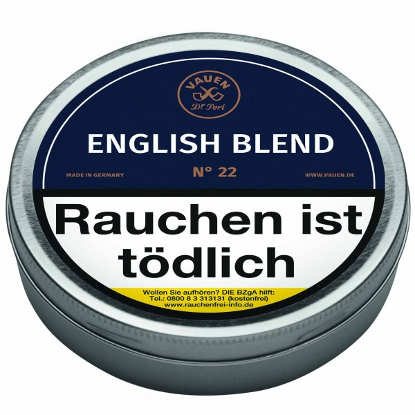 Vauen Pfeifentabak English Blend No. 22 50g Tin