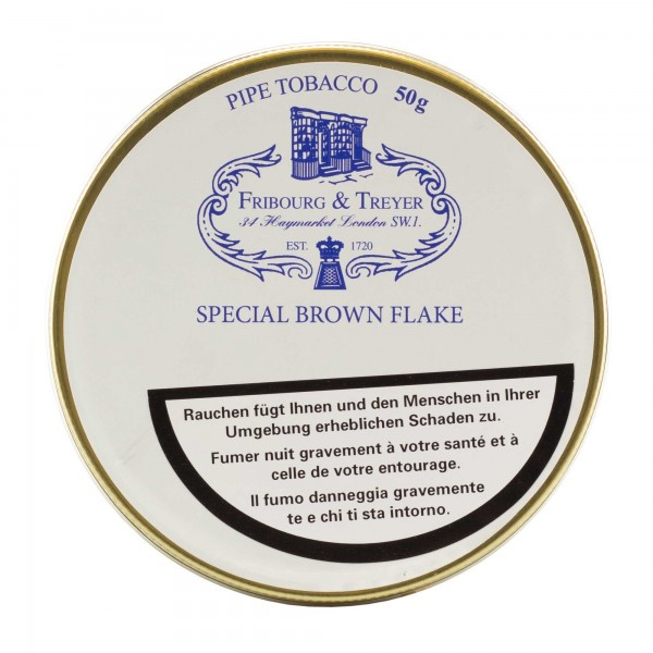 Fribourg & Treyer Special Brown Flake -50g Tin