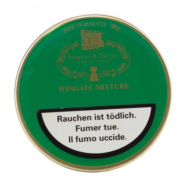 Fribourg & Treyer Wingate Mixture -50g Tin