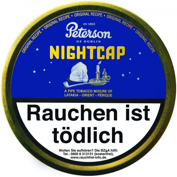 Peterson Pfeifentabak Nightcap - 50g Tin