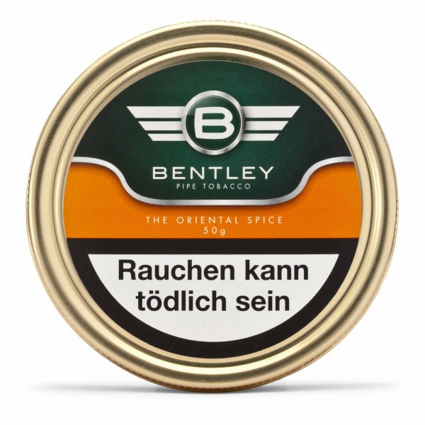 Bentley Pfeifentabak The Oriental Spice -50g Tin