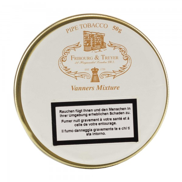 Fribourg & Treyer Vanners Mixture -50g Tin