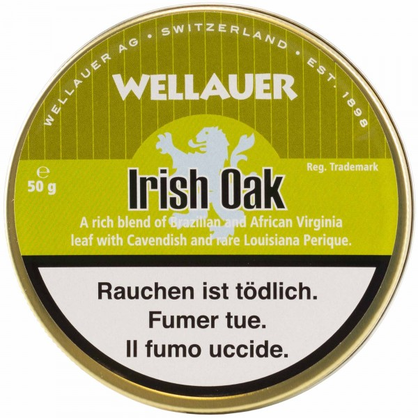 Wellauer's Pfeifentabak Irish Oak - 50g Tin