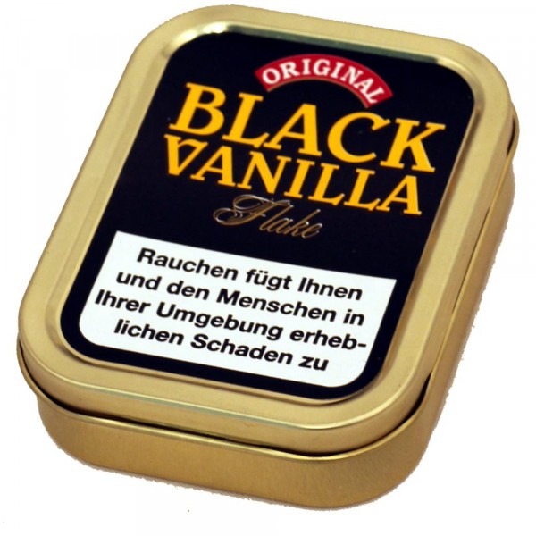 Danish Black Vanilla Flake - 50g Tin
