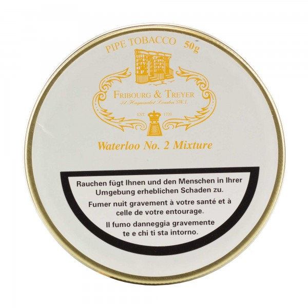 Fribourg & Treyer Waterloo No. 2 -50g Tin