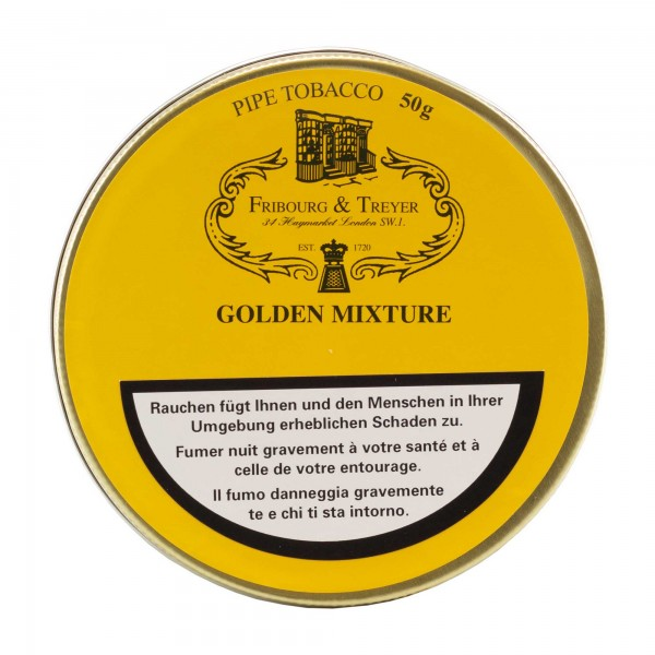 Fribourg & Treyer Golden Mixture -50g Tin