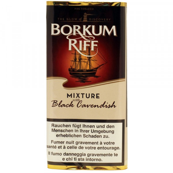 Borkum Riff Black Cavendish Mixture - 42.5g Beutel